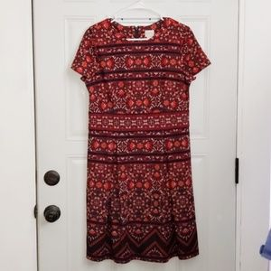 Chico's dress fall colors 1